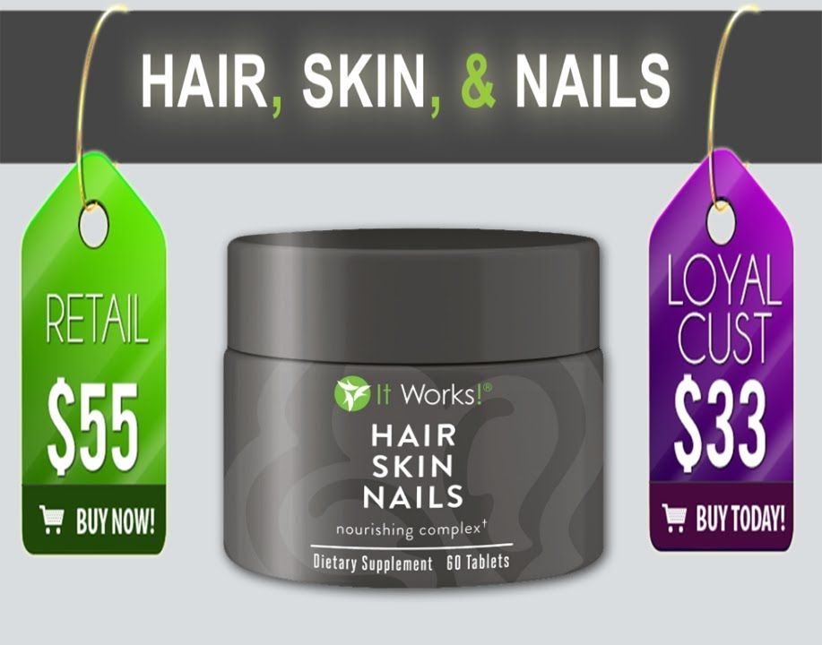 It Works Global Hair Skin Nails - Best Nail Design 2018