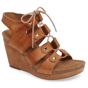 Sofft Women's Carita Lace-Up Wedge Sandal WiKulosI