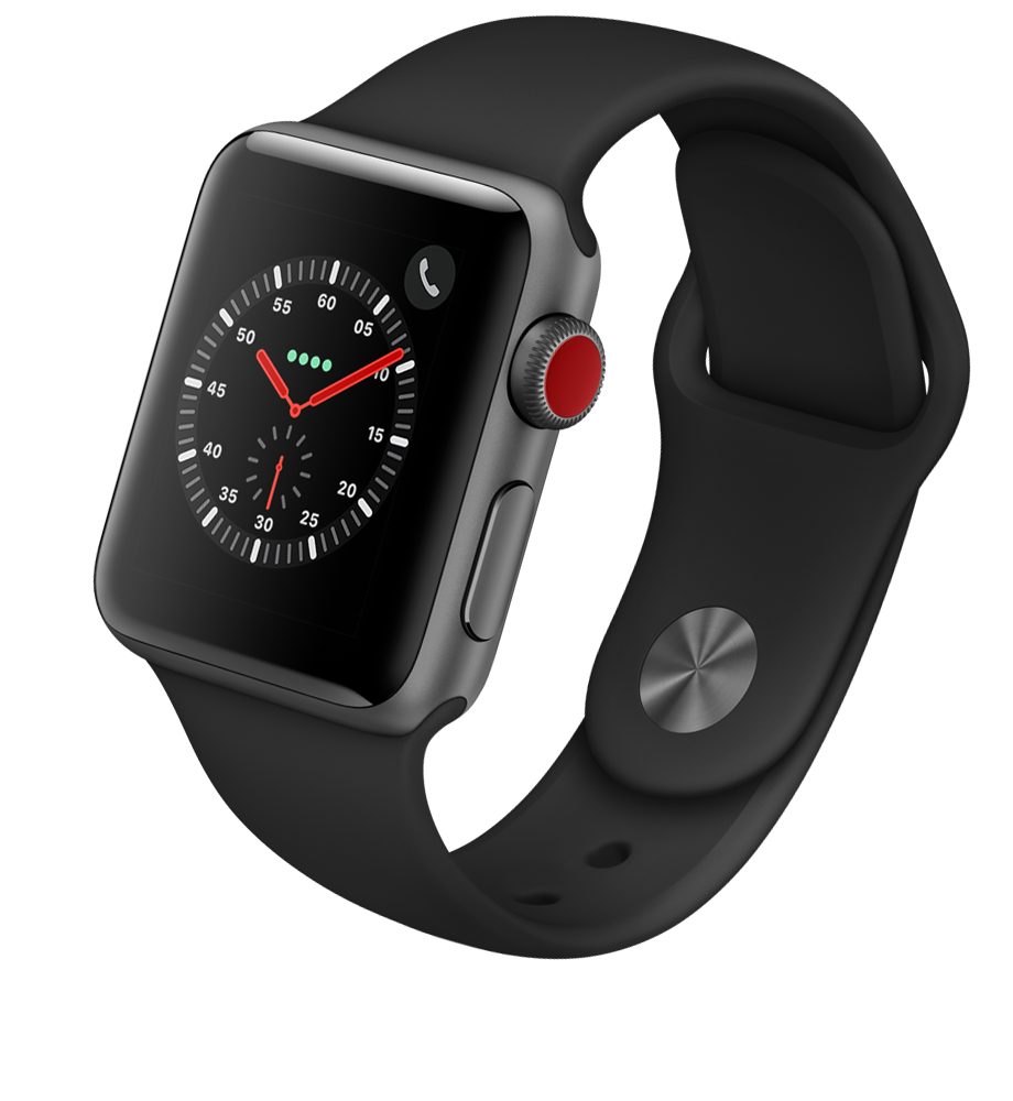 Apple® Watch Series 3 Aluminum 38mm Case with Sport Band