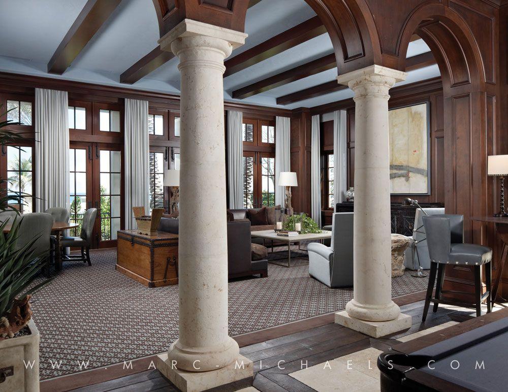 Interior pillars also ideas for the house pinterest interiors rh