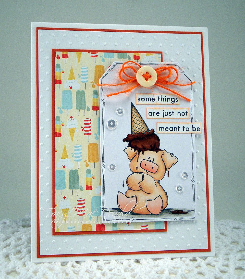 Rubber Stamp Card Making Ideas Part - 19: Spotlight On Peaches The Stuffie Rubber Stamps At Stamping Bella. Click  Throughu2026 Animal CardsStamp ...