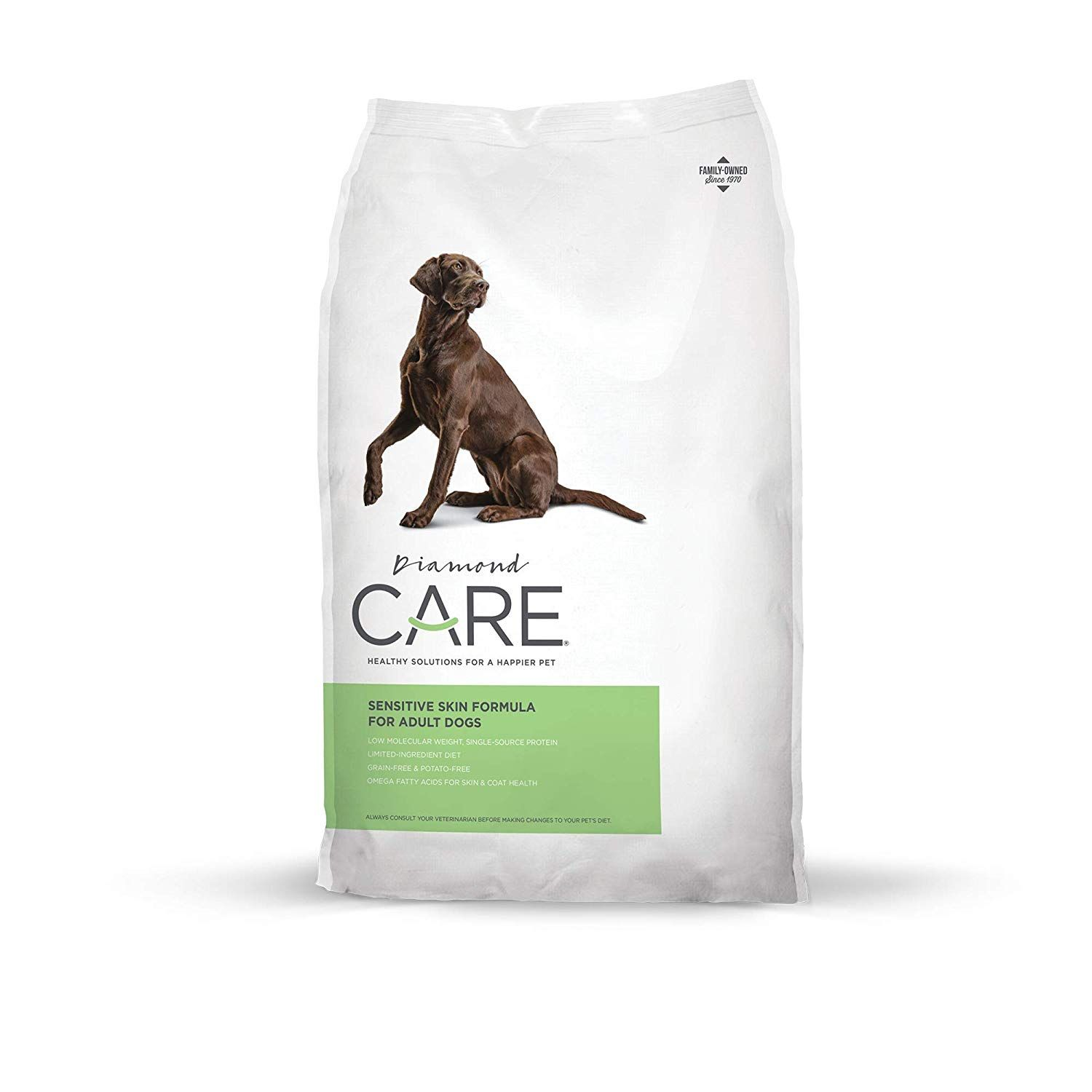 Diamond Care Sensitive Skin Recipe Specially Made As A Limited Ingredient Diet With Hypoallergenic Essentials To Suppo Diamond Care Sensitive Skin Dry Dog Food