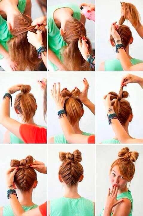 Top 50 Cute Girly Hairstyles With Bows Hair Styles Hair Tutorial Bow Hairstyle