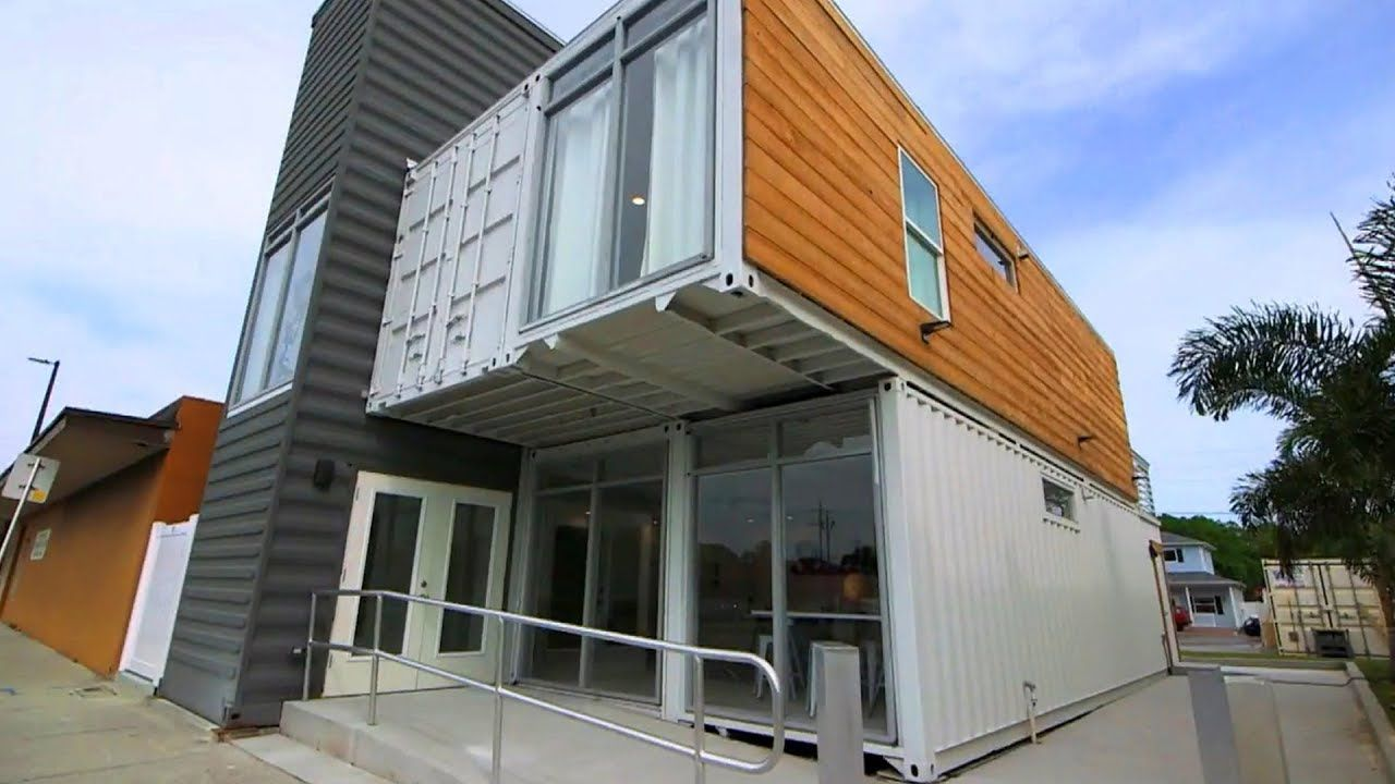 Pretty Stunning Studio Shipping Container Home in Pinellas