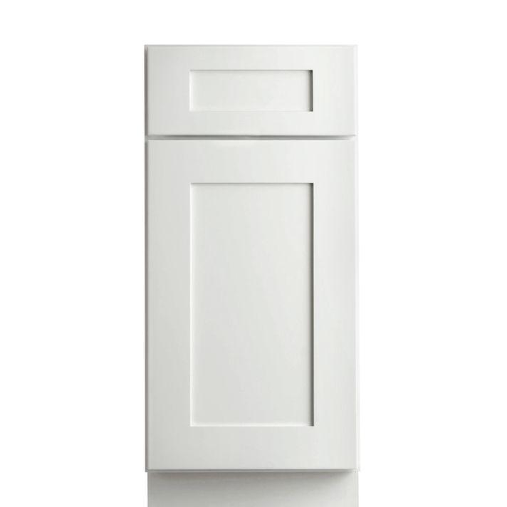 Best Aspen White Shaker Pre Assembled Kitchen Cabinet Willow 400 x 300