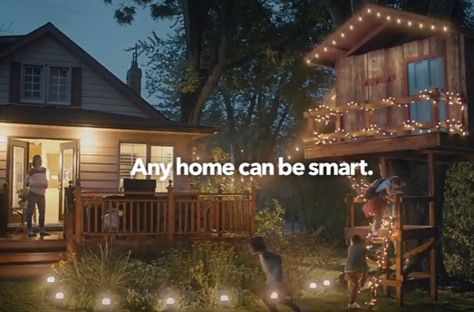 Best Buy Highlights In A New Ad Running In Canada That Any Home Can Be Smart Tree House Cool Things To Buy Backyard