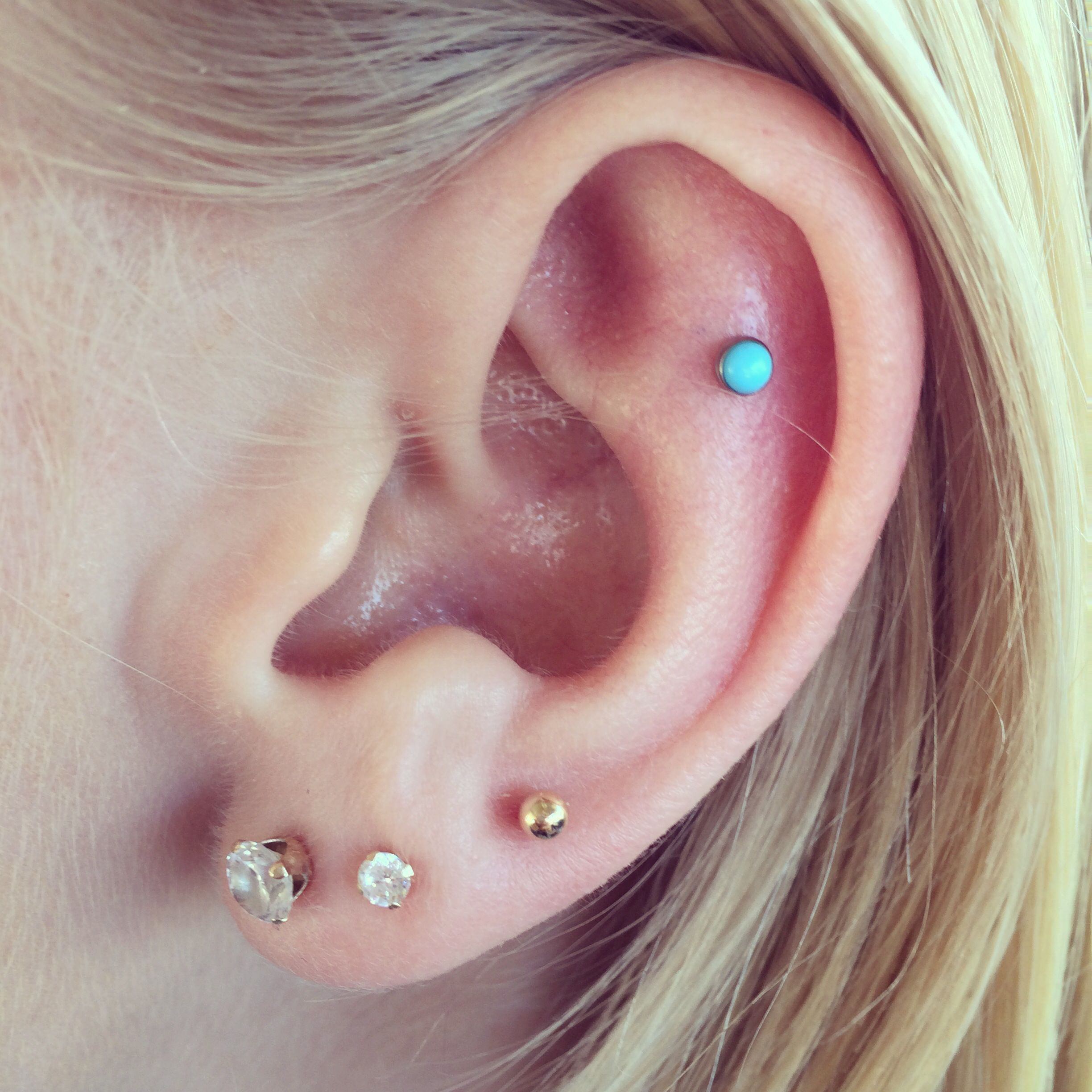 Three Love Piercings And A