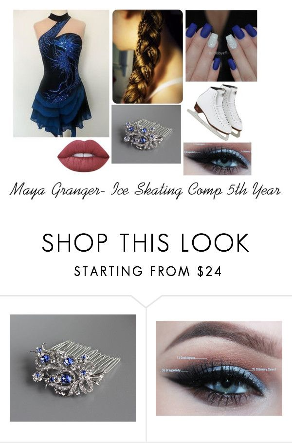 """Maya Granger- Ice Skating Comp 5th Year"" by amorris-3 ❤ liked on Polyvore featuring Lime Crime"