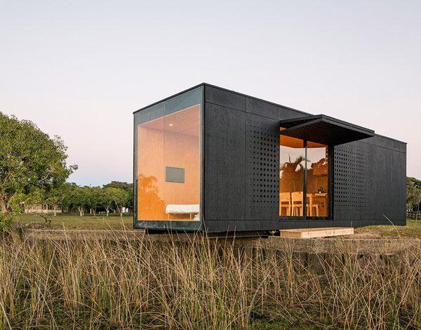 Fachada de casas pequenas e modernas 25 lindas ideias for Fachadas de viviendas pequenas