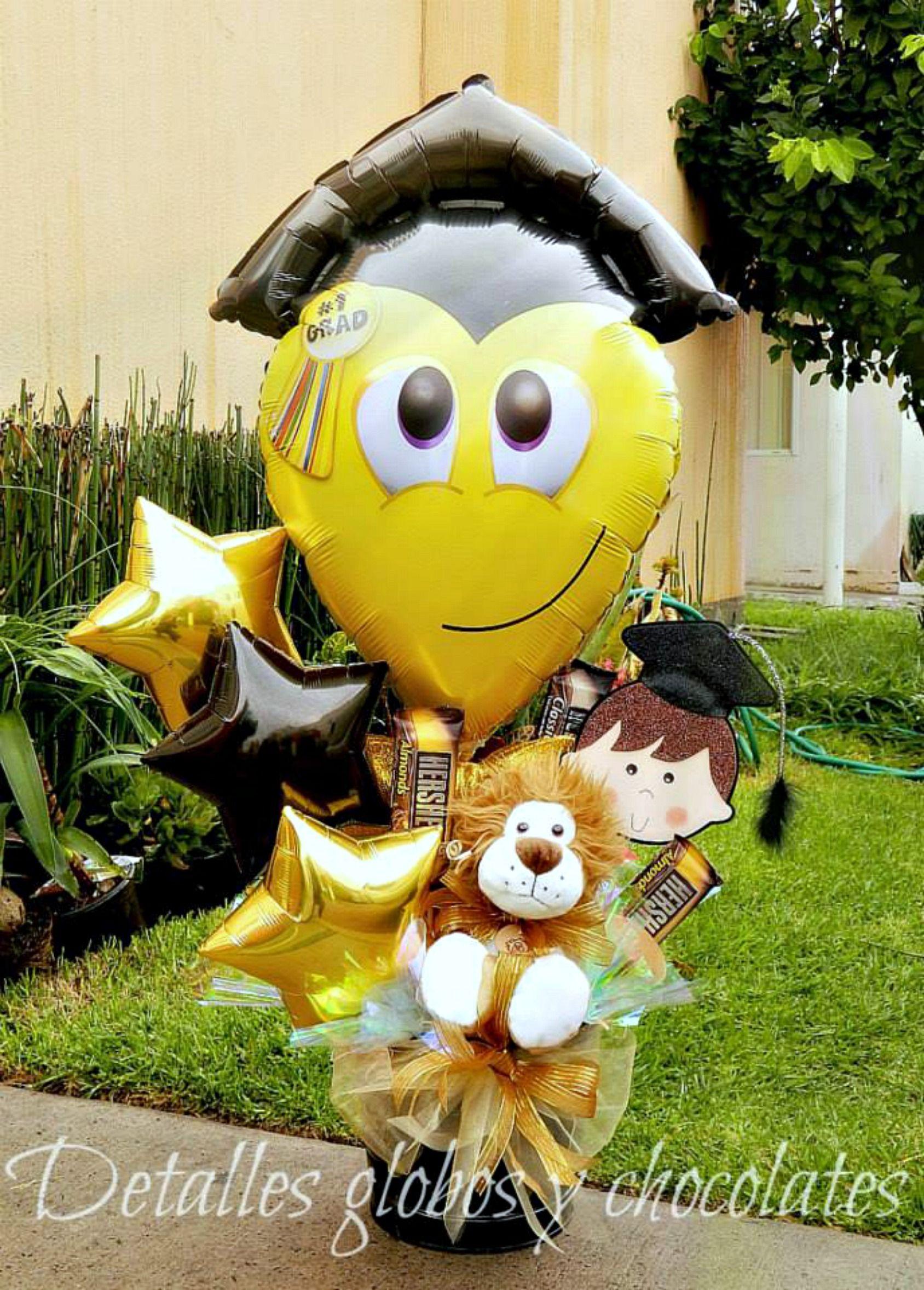 Detalles globos y chocolates decomaris centros de - Detalles para decorar ...