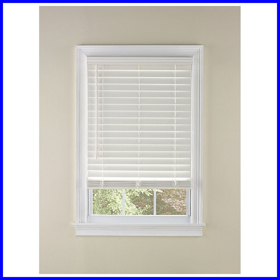 96 Reference Of 2 Wood Blinds White In 2020 White Wood Blinds White Wooden Blinds Blinds