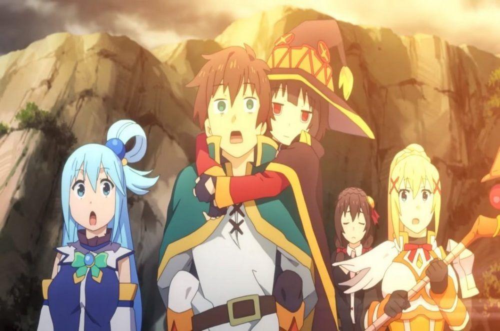 Konosuba Movie Releases Teaser Video And More Info Anime Movie