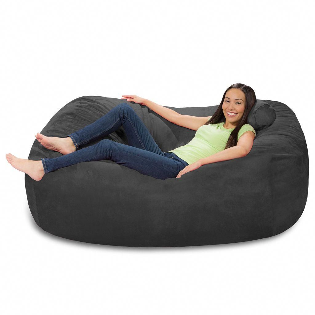 Fantastic 6 Foot Bean Bag Lounger 6 Foot Bean Bag Couch Pabps2019 Chair Design Images Pabps2019Com