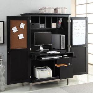 Beau Sunrise Furniture Computer Armoire Desk