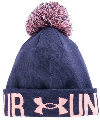db92e332456 Under Armour Women s Under Armour Logo Pom Pom Beanie  hat  womens ...