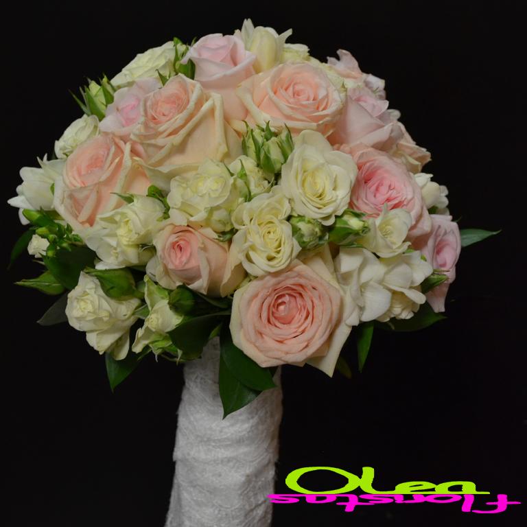 Bouquets - Ramos de Novias - Freesia & Rosas