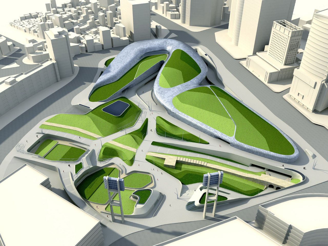 Dongdaemun Design Park And Plaza
