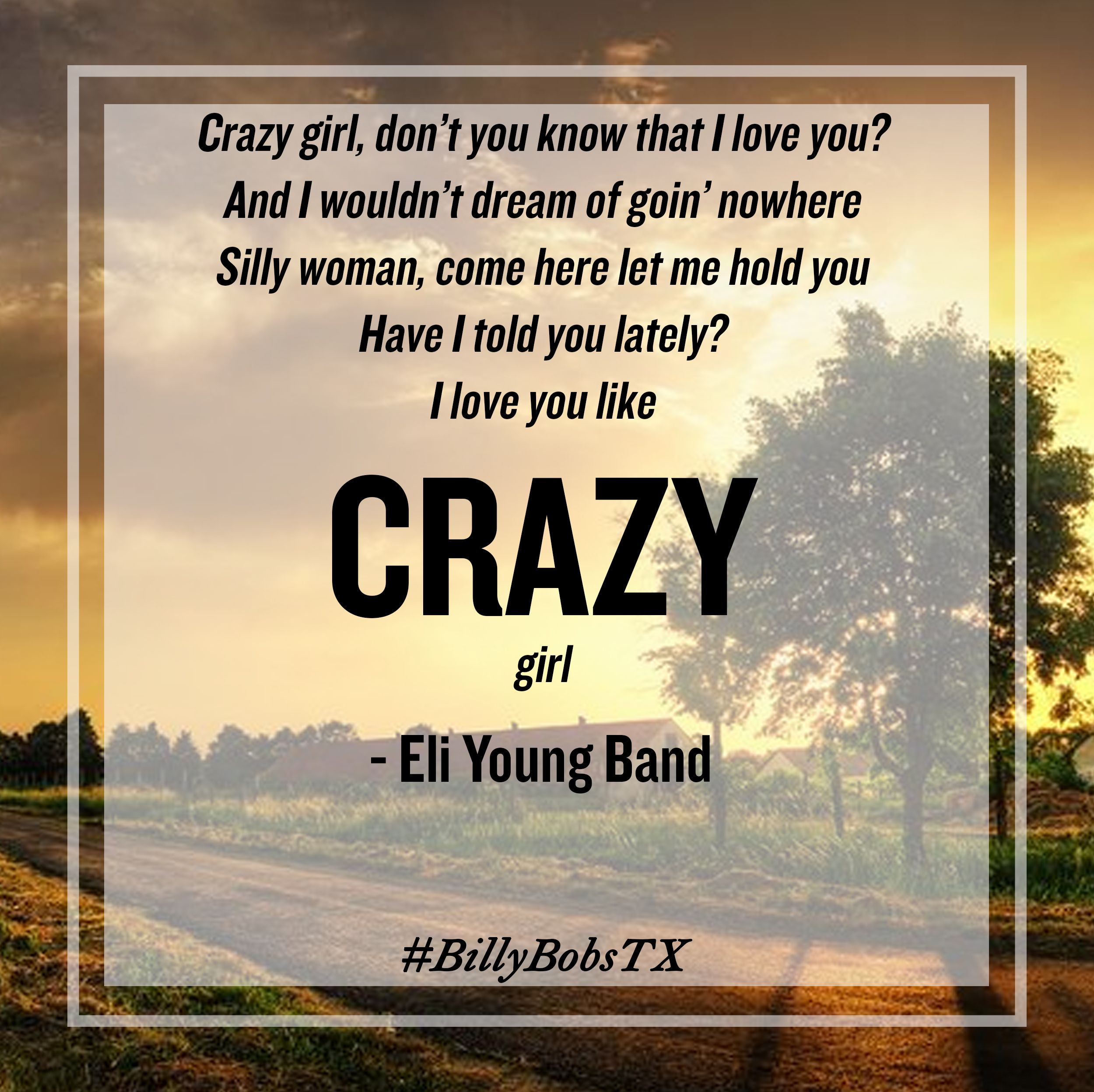 Crazy woman song lyrics