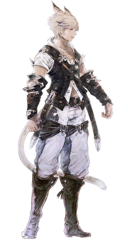 Final Fantasy XIV Concept Art | Inspiring Character Design ...