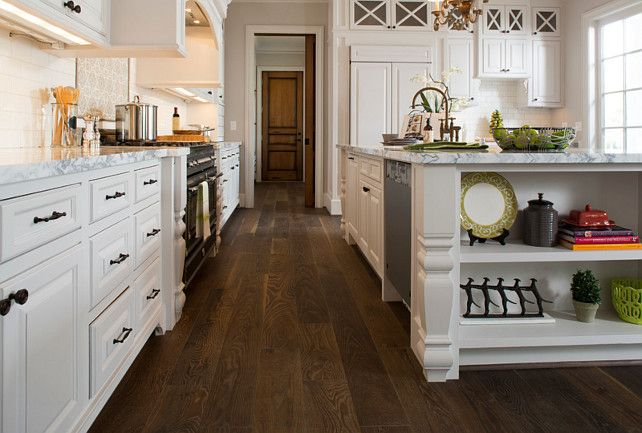 Kitchen Flooring. Kitchen Hardwood Flooring Ideas. The Kitchen Flooring Is Engineered  Hardwood From Monarch