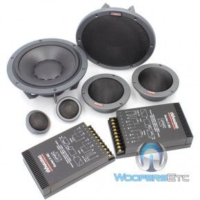 Esotec System 362 - Dynaudio 8 3 Way Component Speakers #componentspeakers