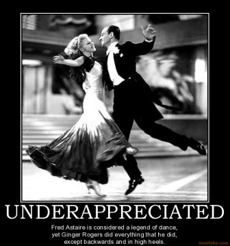 Backwards And In High Heels Although If You Watch The Old Movies You Can See How Much He Carries Her Through The Routines Fred Astaire Ginger Rogers Dance