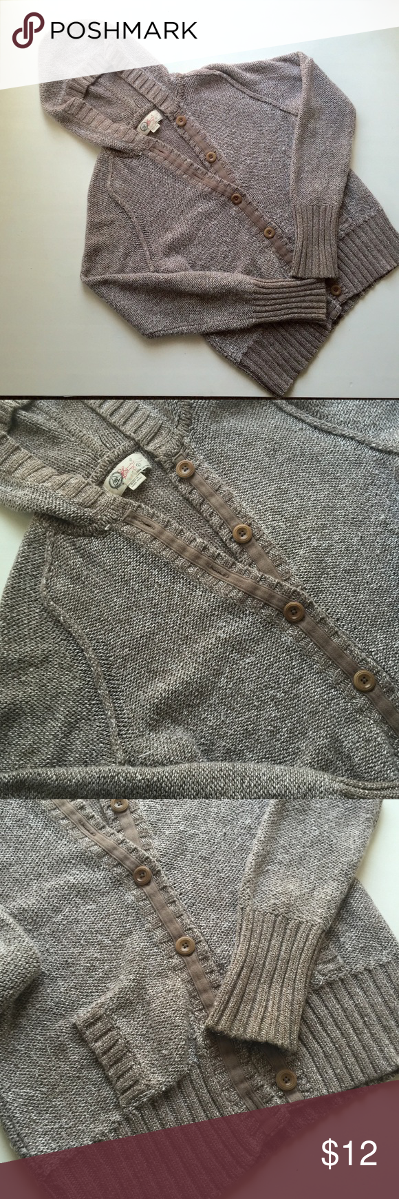 Gap Limited Edition Cardigan Chunky hooded cardigan, perfect for ...