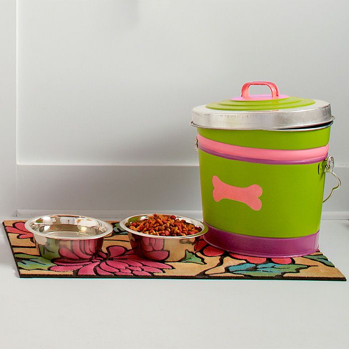 DIY Decorative Dog Food Container For Pip Pinterest Dog food