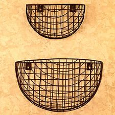 Chicken Wire Wall Baskets Come In A Set Of 2. Description From Ebay.com