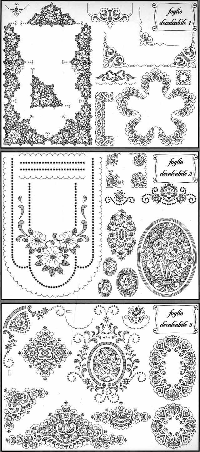 Image Detail for - Trans Pat: Cutwork, #208 Pattern List ...