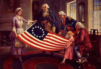 Pin By Elsa Guzman Doucette On Because There Are Such Little Bits Of Fascinating History First American Flag American History American Flag