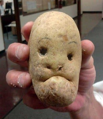 This potato is gonna mash the shit out of you