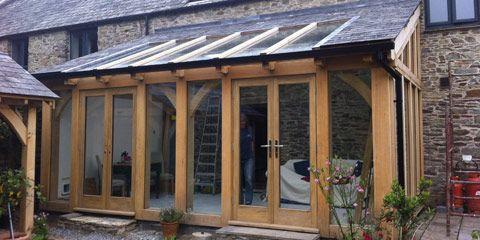 Timber Frame Kitchen Extension | Nakanak org