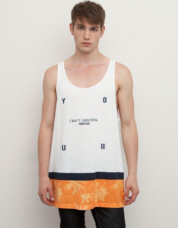 LargasUrban Style Tirantes Camiseta De Extra Camisetas mwOnPvNy80