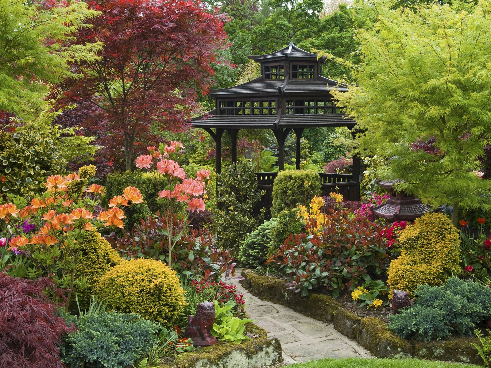 Zen Style Garden, Walsall, England