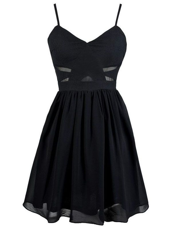 A-line+Spaghetti+Straps+Short/Mini+Chiffon+Cocktail+Dresses/Short+Prom+Dress#+ZP241
