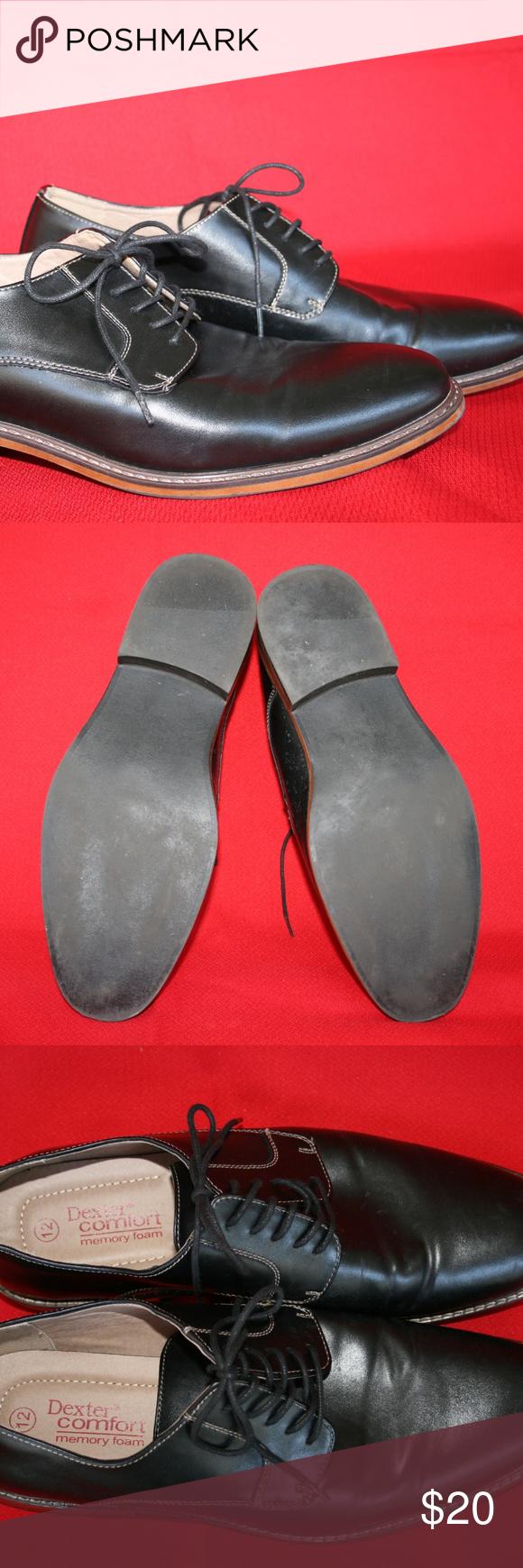 d4ebe3ec874a57 Dexter Men s Alec Plain-toe Oxfor Pre-owned in perfect condition Dexter  Comfort Shoes Oxfords   Derbys