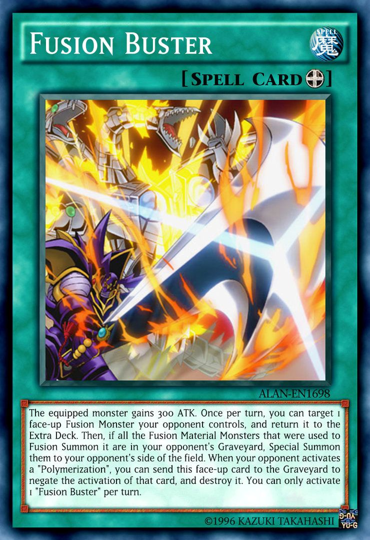 Fusion buster by alanmac95 on deviantart busters yugioh