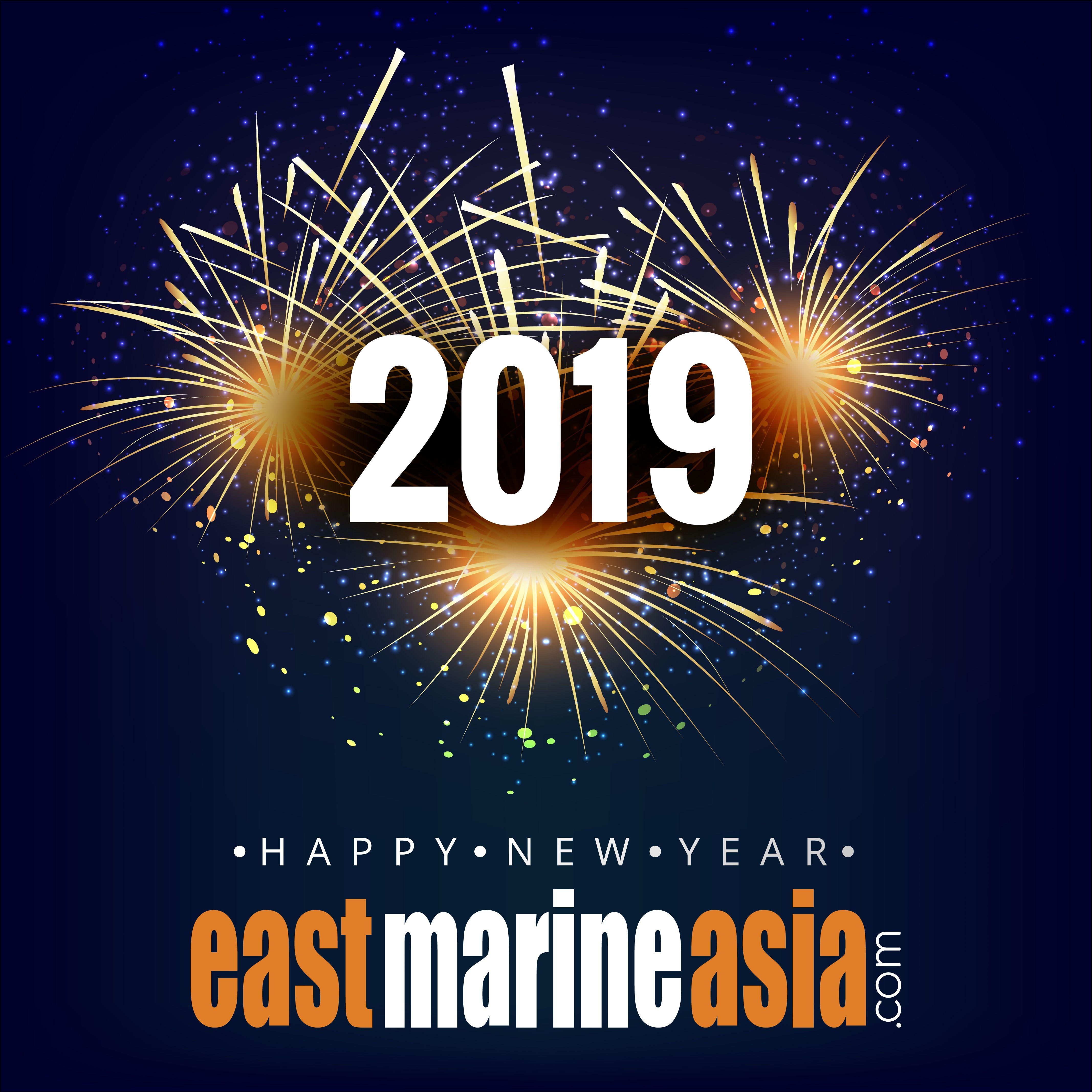 Happy New Year 2019 By Eastmarineasia Phuket Thailand