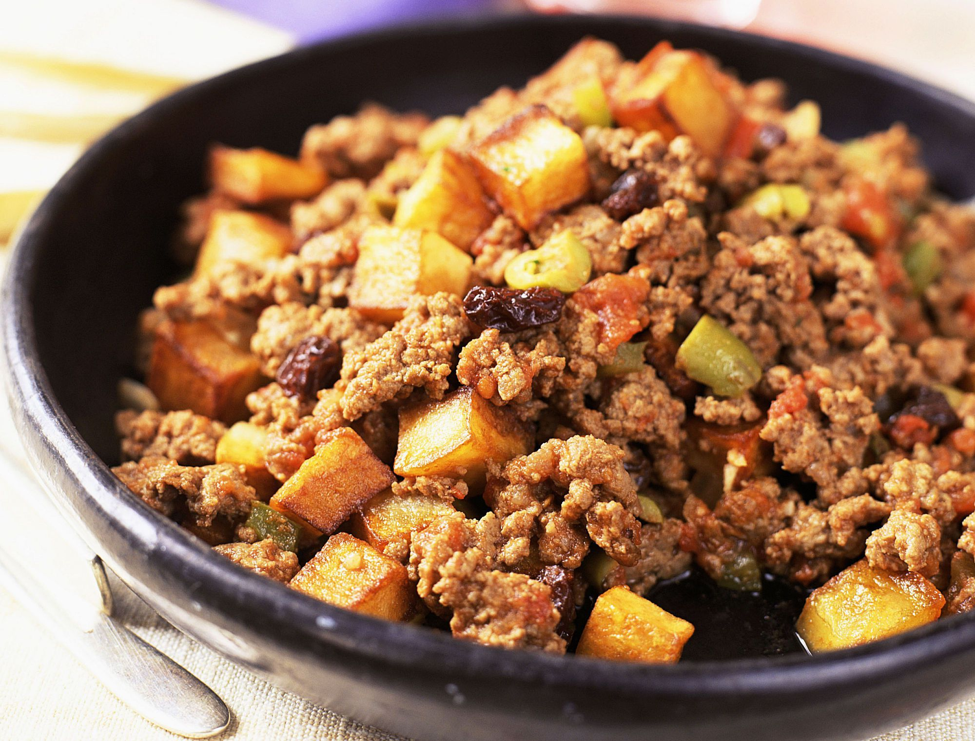 Picadillo mexican style recipe american dishes ground meat and meal ideas try this tasty version of the versatile latin american dish forumfinder Image collections