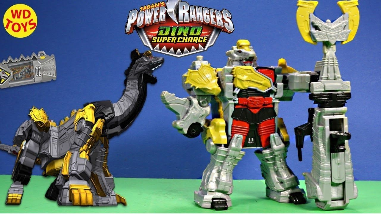 - New Power Rangers Dino Super Charge - Titano Charge Megazord
