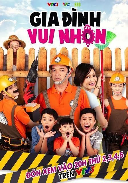 Gia Đình Vui Nhộn | Việt Nam | Vtv3 - Trọn Bộ