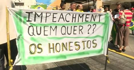 RS Notícias: SP: manifestantes protestam a favor do impeachment...