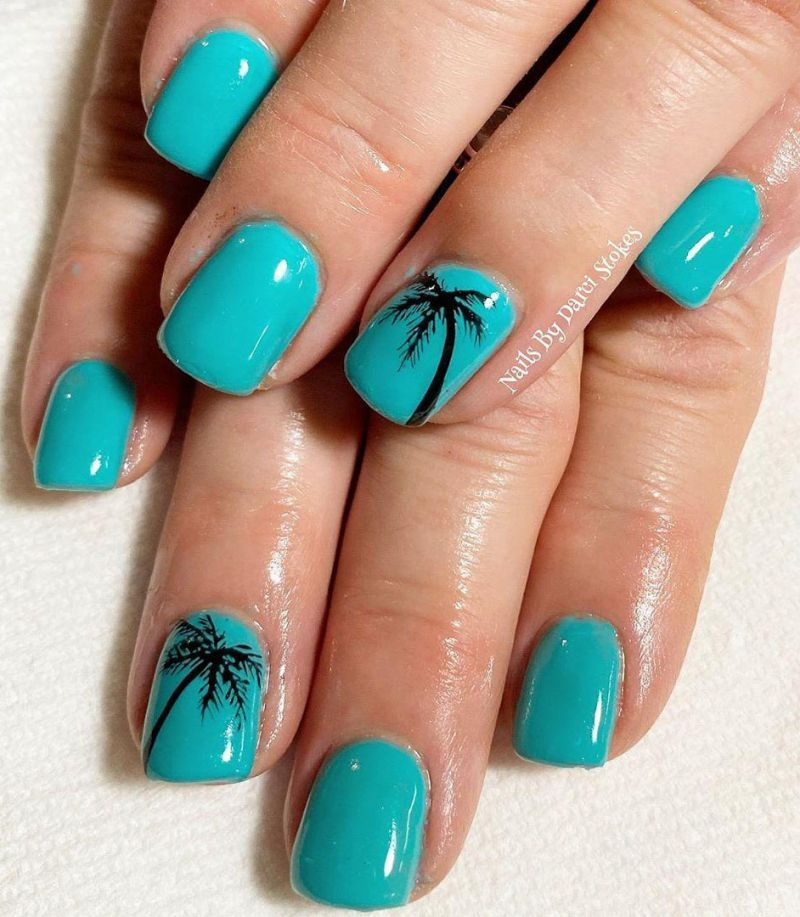 Trendy Beach Nail Art Designs For Summer In 2020 Beach Nail Art Designs Nail Art Designs Beach Nails