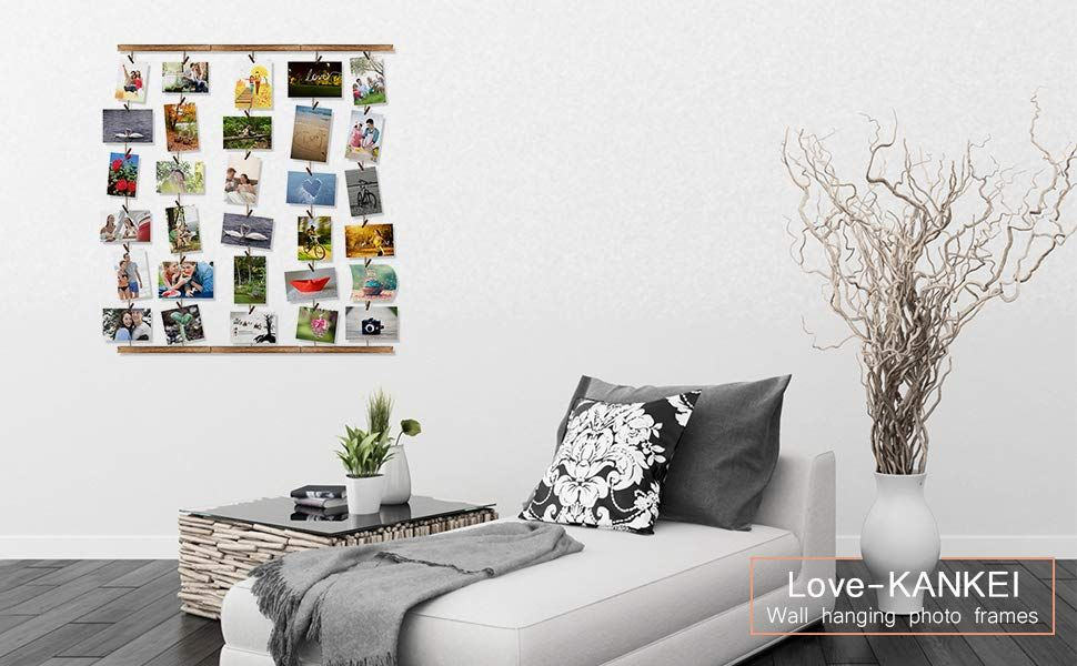 Wonderful Decoration Great Way To Organize And Display Pictures Casual And Neat Design Fun And U Frame Decor Picture On Wood Picture Organization
