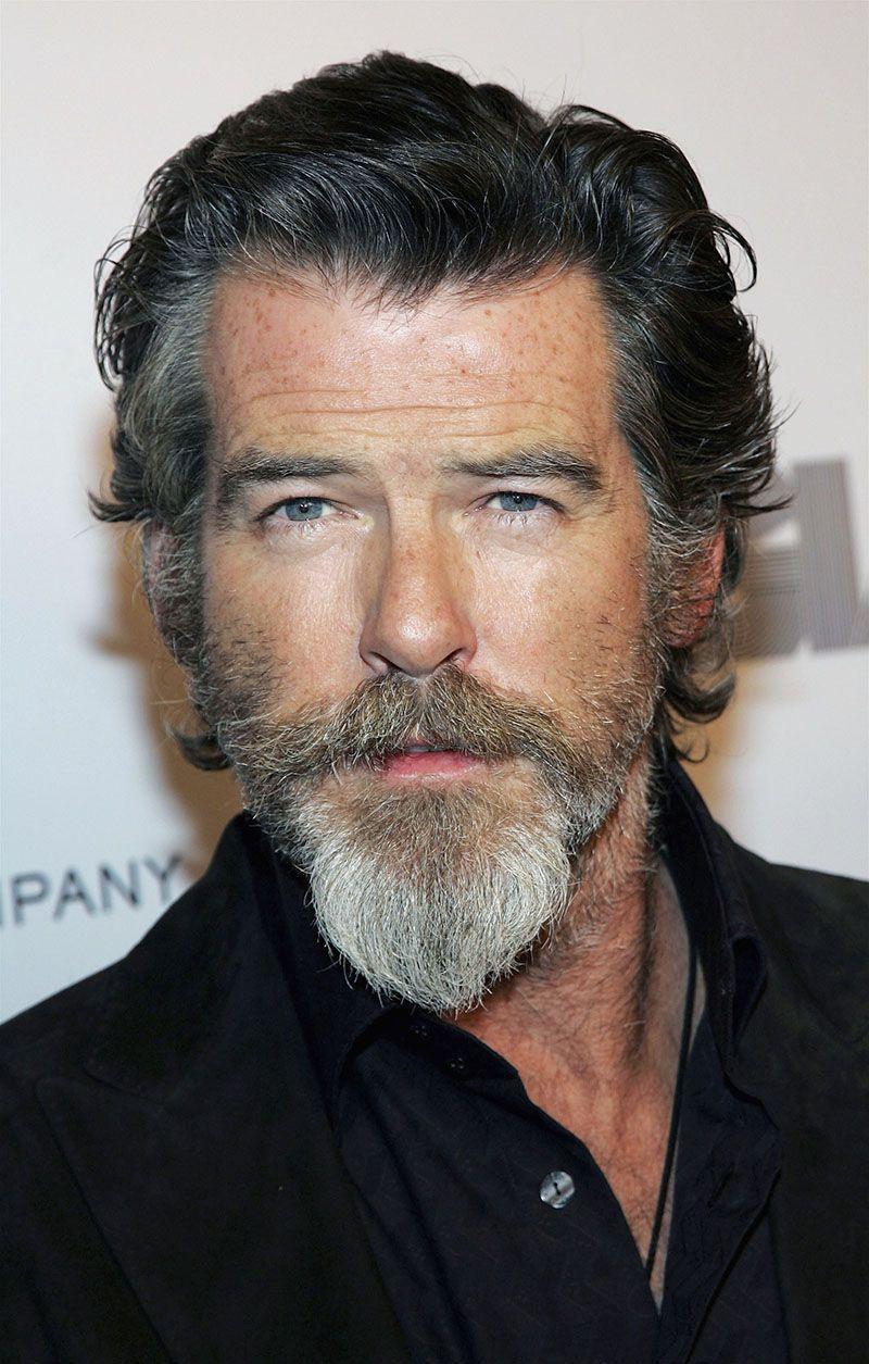 Pierce Brosnan Beard Beards Pinterest Beard Styles Goatee