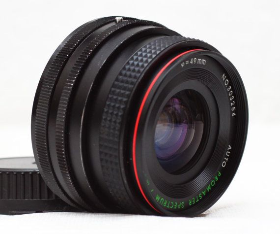 Promaster Spectrum 7 Mc F 2 8 28mm Canon Fd By Lephotographeny 45 00 Vintage Lenses Lenses Electronic Products