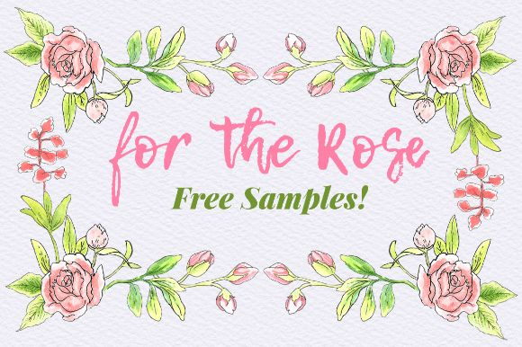 What A Lovely Day Today We Are Gladly Present You Pink Roses Floral Elements Free Sample This Is The Part Of For Rose