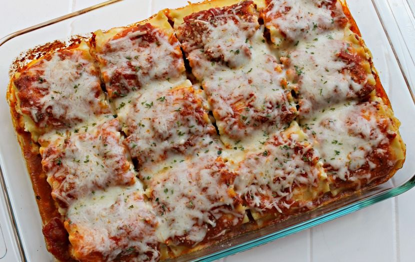 cheesy lasagna recipe easy