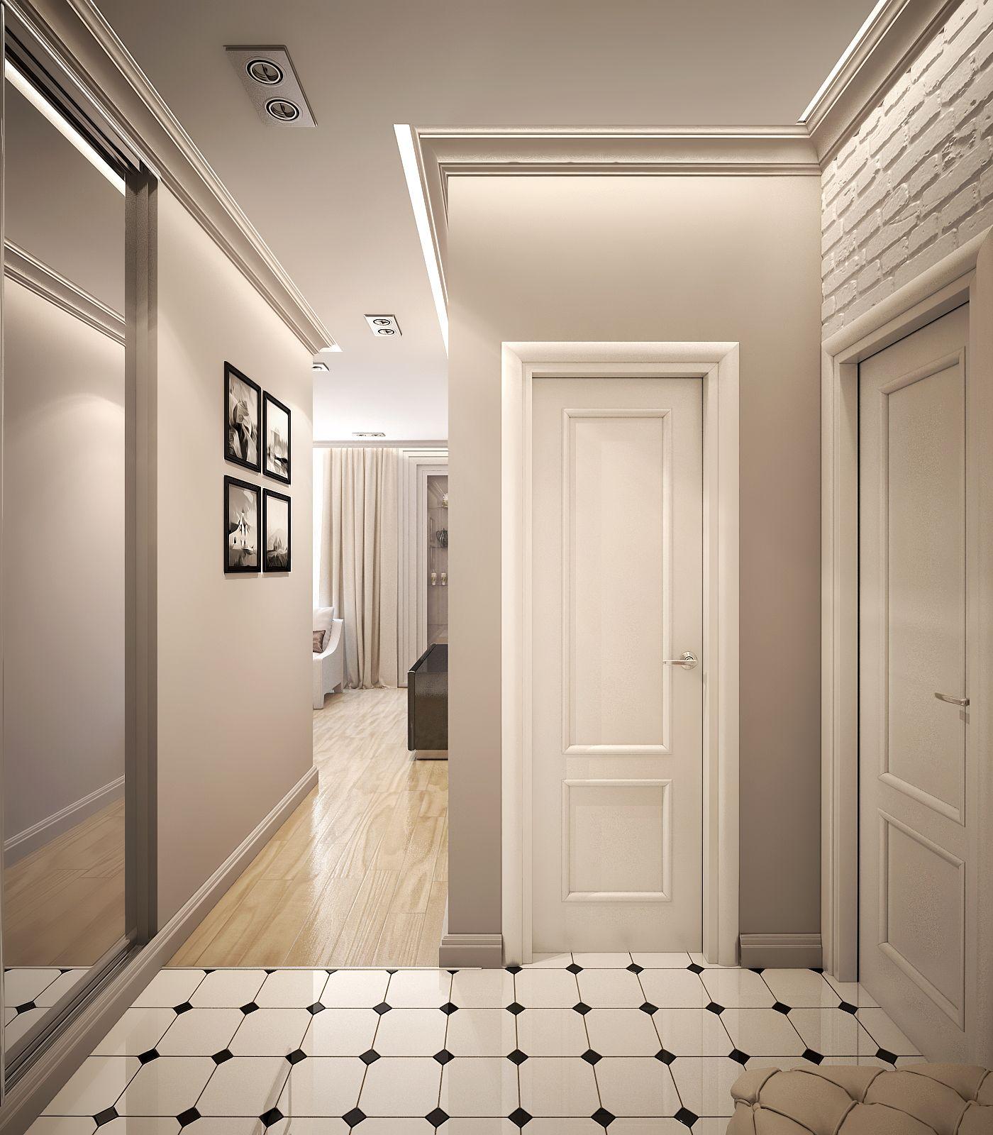 Prihozhaya Prihozhaya Contemporary Living Room Design Home Room Design Corridor Design